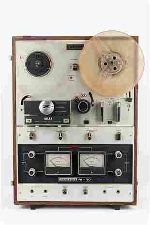 AKAI M-10 Reel to Reel Tape Recorder