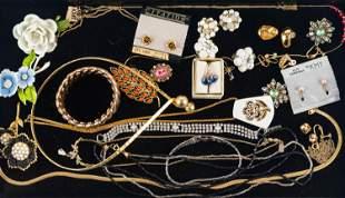 10K Gold Ring & Costume Jewelry