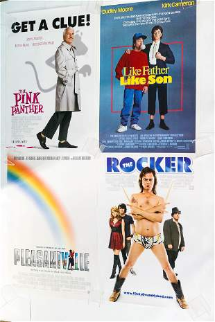 """Theatrical Posters (4) with """"The Pink Panther"""""""
