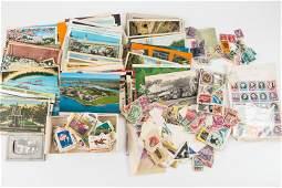 Vintage Postage Stamps & Postcards