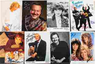 Autograph Photos of Country Stars and Others