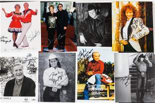 Autographed Photos of Country Stars and Others