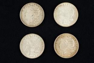 1921 Morgan Silver Dollars (4)