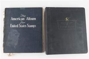 Vintage US Stamps (2 Albums)