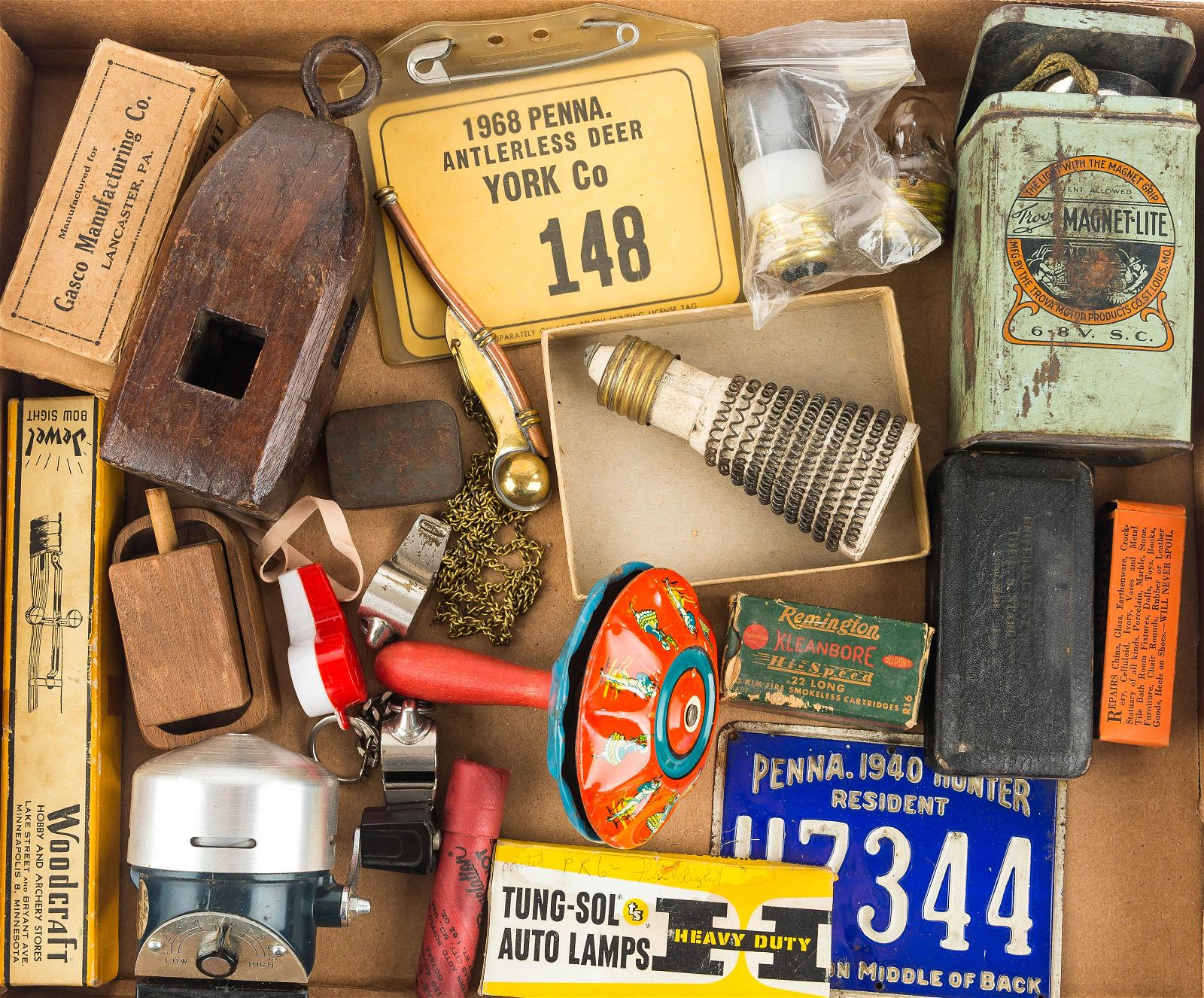Hunting, Fishing, and Automotive Items