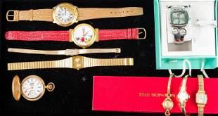 Pocket Watch & Ladies' Wristwatches