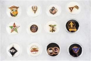 Masonic Related Lapel Pins