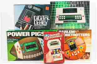 Vintage Electronic Games (5) Items
