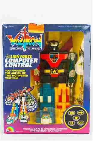 Voltron Lion Force Computer Control Robot NIB 1984