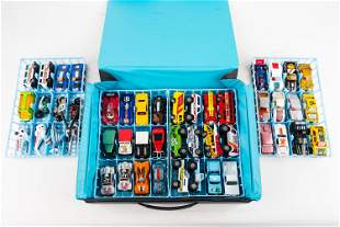 (48) Matchbox in Carrying Case