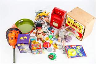 Halloween and Other Vintage Toys