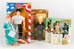 Rocky and Other Action Figures