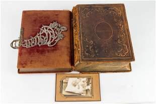 Victorian Photo Album and 19th C Bible