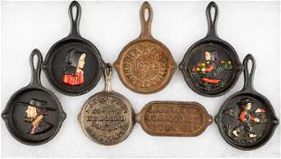 Miniature Cast Iron Advertising Pieces