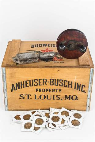 Budweiser Crate and Miscellaneous
