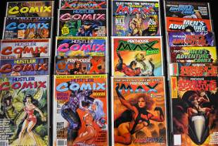 Hustler Comix and Other Penthouse Comic Books