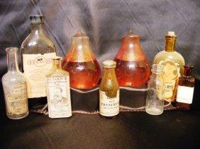 3: 2 Fire Extinguisher Bulbs; bottles