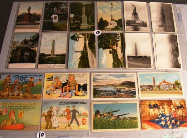 10: Military Postcards: others