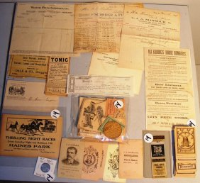 13: York Co. PA Area Letterhead and Advertising