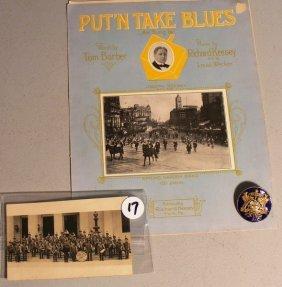 17: Spring Garden Band, York Co, PA Memorabilia