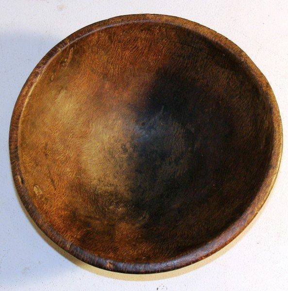 247: 18th C Burl Wood Bowl