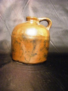7A: 19th Century Jug with applied Handle