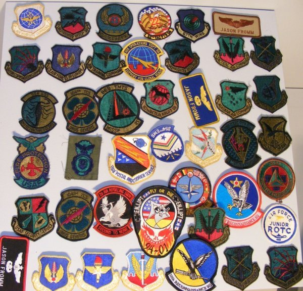 3: Flight Uniform Patches