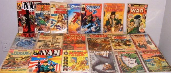 7: Army Comic Books