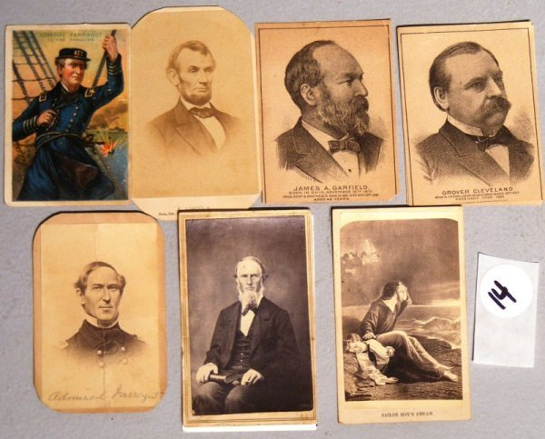14: CDV Grouping;  Lincoln, Farragut, etc.