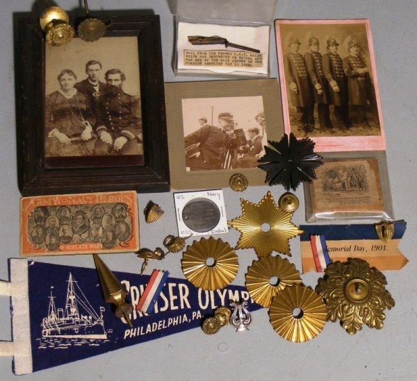 202: Spanish American War Memorabilia