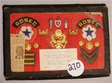 270 WWII US Army items of a Pearl Harbor Survivor