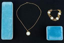 Gold Fill Wedgwood VanDell Jewelry Set