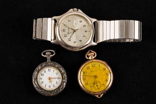 Victorian Repousse & Other Watches