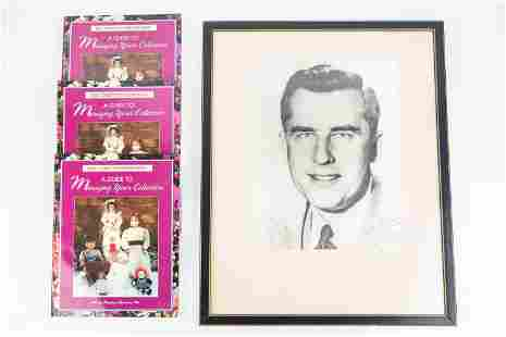Autographed Photo of Gov. Robert Meyner & Books