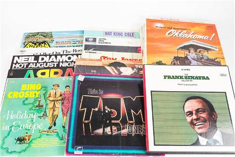 Tom Jones & Other 33rpm Records