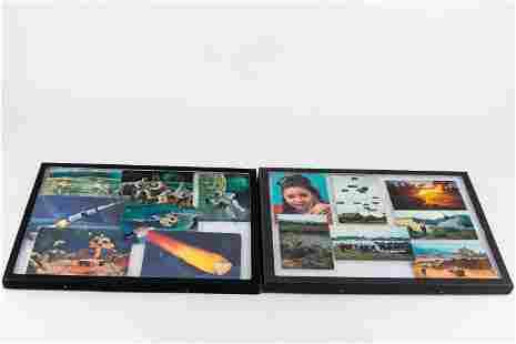 3-D Aerospace & Vietnam Postcards (2 cases)