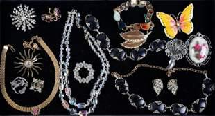 Rhinestone and Other Costume Jewelry