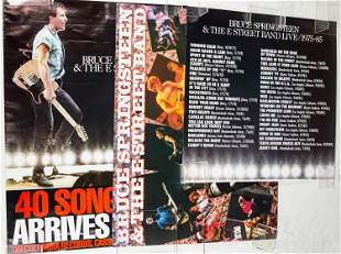 Bruce Springsteen Posters (2)
