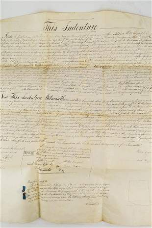 1843 Deed from Dauphin County
