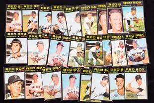 1971 Topps Boston Red Sox Baseball Cards