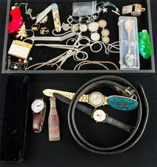Mixed Costume Jewelry (2 Trays)