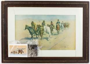 Frederick Remington Print & Postcards