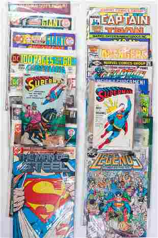 Superman and Other DC Comics