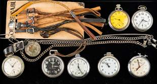 Pocket Watches & Fobs Collection