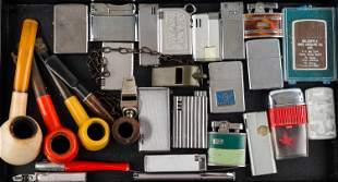 Vintage Lighters & Pipes