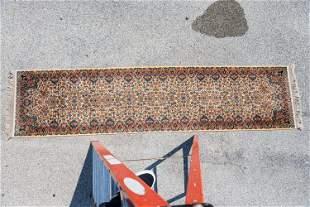 "Floral Runner Carpet 3'x12"""