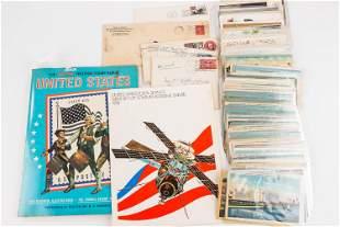 Vintage Stamp & Postcard Collection