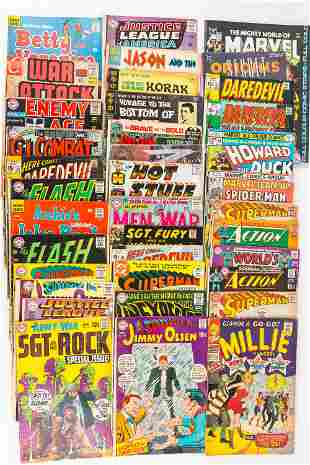 Mixed Vintage Comics- 12 Cents & Up