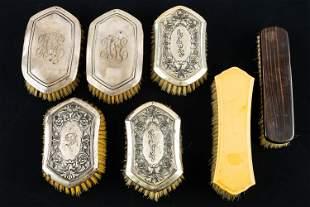 Sterling Silver & Other Vintage Brushes