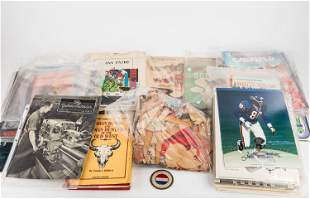 Native American Books and Mixed Ephemera